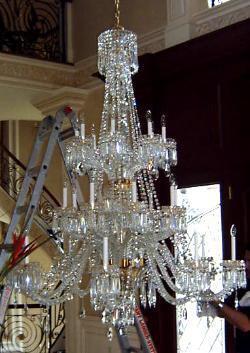 Gemini cut glass company crystal chandeliers lighting lanterns chandelier repair aloadofball Choice Image